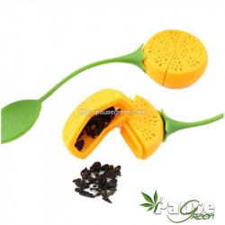 Boule à thé en silicone en forme de citron