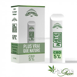 POD | White Window - 5% de CBD - Greeneo