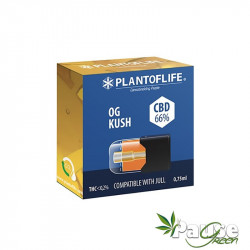 Cartouche POD | Wax + OG KUSH - 66% de CBD - 0.75ml