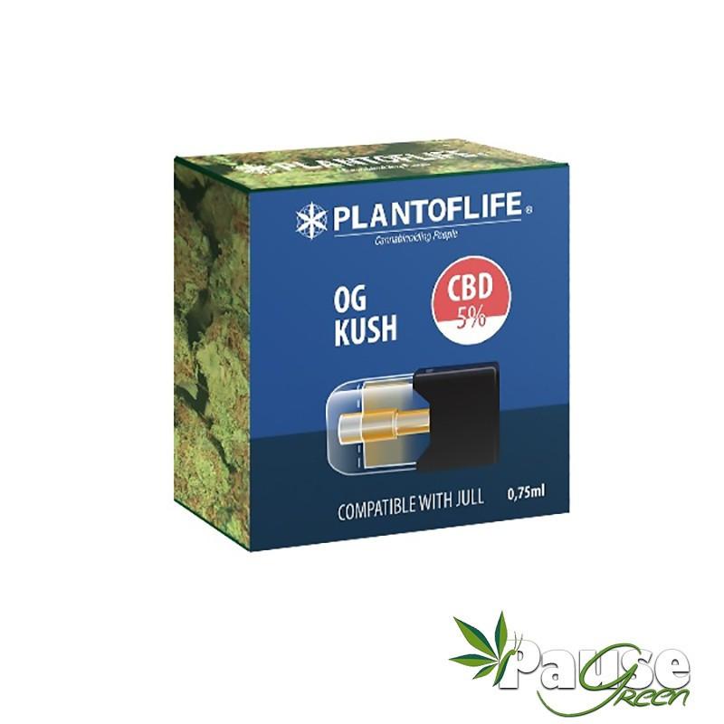 Cartouche POD | OG Kush - 5% de CBD - 0.75ml