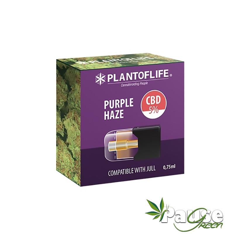 Cartouche POD   PURPLE HAZE - 5% de CBD - 0.75ml