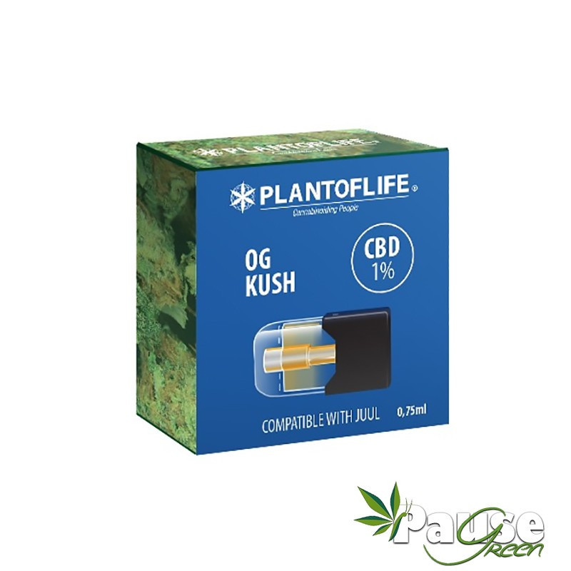 Cartouche POD   OG Kush - 1% de CBD - 0.75ml