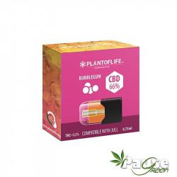 Cartouche POD | Wax + BUBBLEGUM - 66% de CBD - 0.75ml