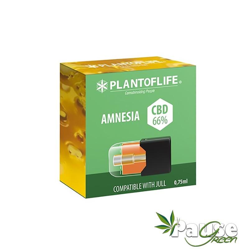Cartouche POD | Wax + AMNÉSIA - 66% De CBD - 0.75ml