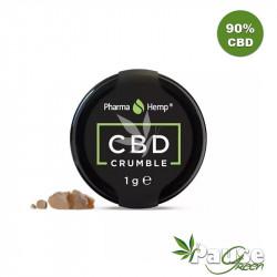 Crumble de CBD 90% - 1g - Pharmahemp®