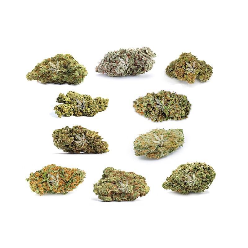 Pack fleurs de CBD - 10 variétés - 20g