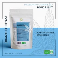 Infusion au chanvre DOUCE NUIT - 25g | Gamme Essentiel