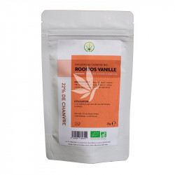 Infusion au chanvre Rooibos Vanille - 25g | Gamme Essentiel