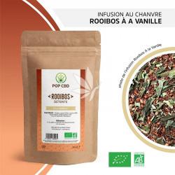 Infusion au chanvre / Rooibos - Vanille - 35g | Gamme Bien-être