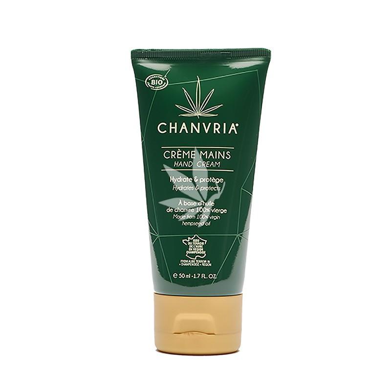 Crème Pour les Mains au Chanvre Bio - 50ml