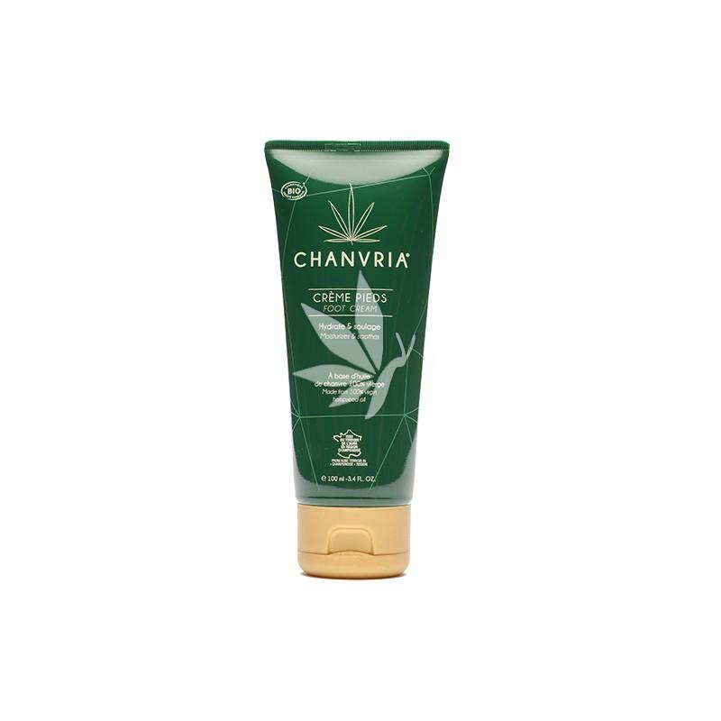 Crème Pour les Pieds au chanvre BIO - 100ml