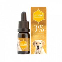Huile au CBD 3% - 10ml - Spéciale chien - Large Spectre