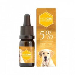 Huile au CBD 5% - 10ml - Spéciale chien - Large Spectre
