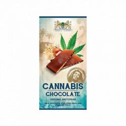 Chocolat au lait aux noisettes et graines de chanvre (80g) - Haze