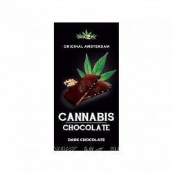 Chocolat noir 70% aux graines de chanvre (80g) - Haze