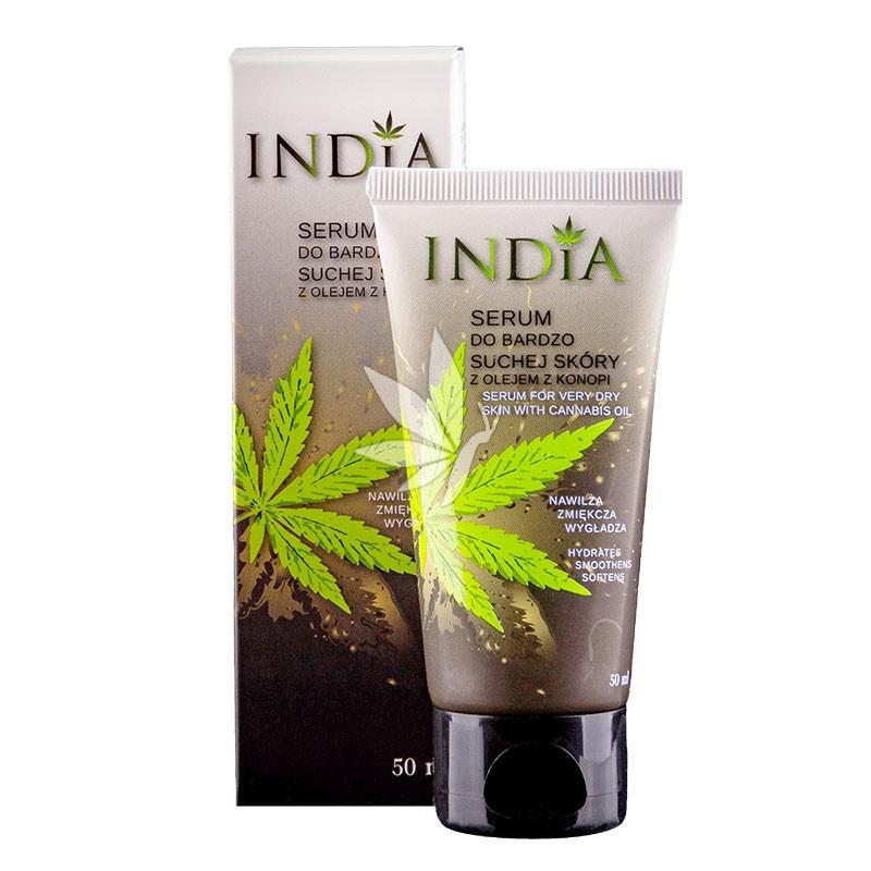 Sérum peau très sèche visage & mains à l'huile de chanvre - 50ml