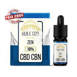 Huile ZEN 10% CBD + CBN