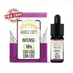 Huile INTENSE 20% CBD+CBG+CBN+CBC