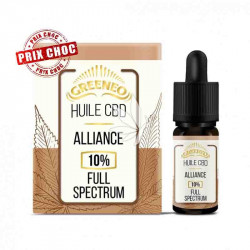 Huile ALLIANCE 10% CBD - Full Spectrum