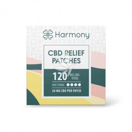 Patchs de CBD 120mg - Harmony®