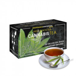 Thé noir au cannabis sativa - Multitrance®(1)