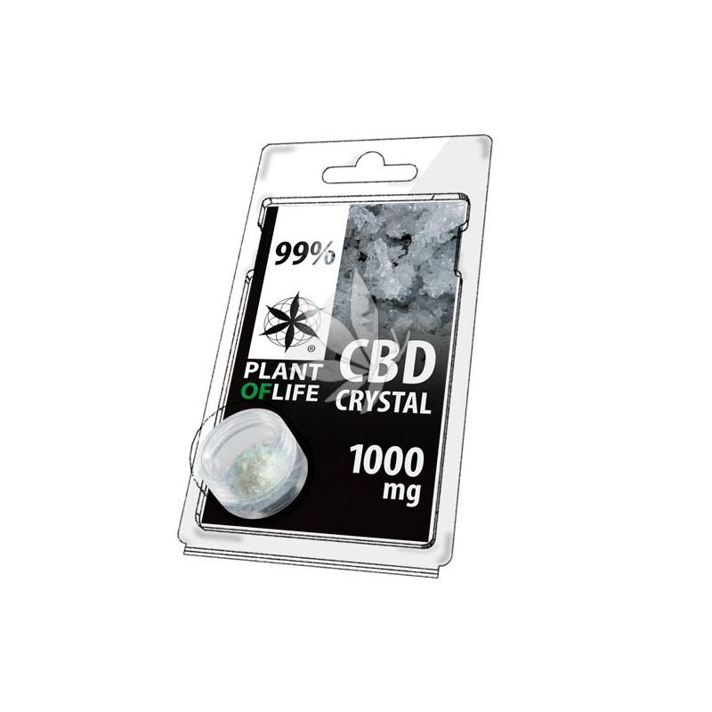 Cristaux de CBD 99% en poudre 1000mg - Plant Of Life®
